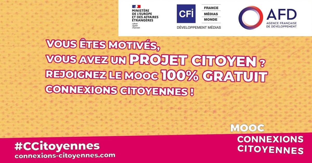 """""""Connexions Citoyennes"""", un MOOC pour favoriser l'action citoyenne en Afrique francophone"""