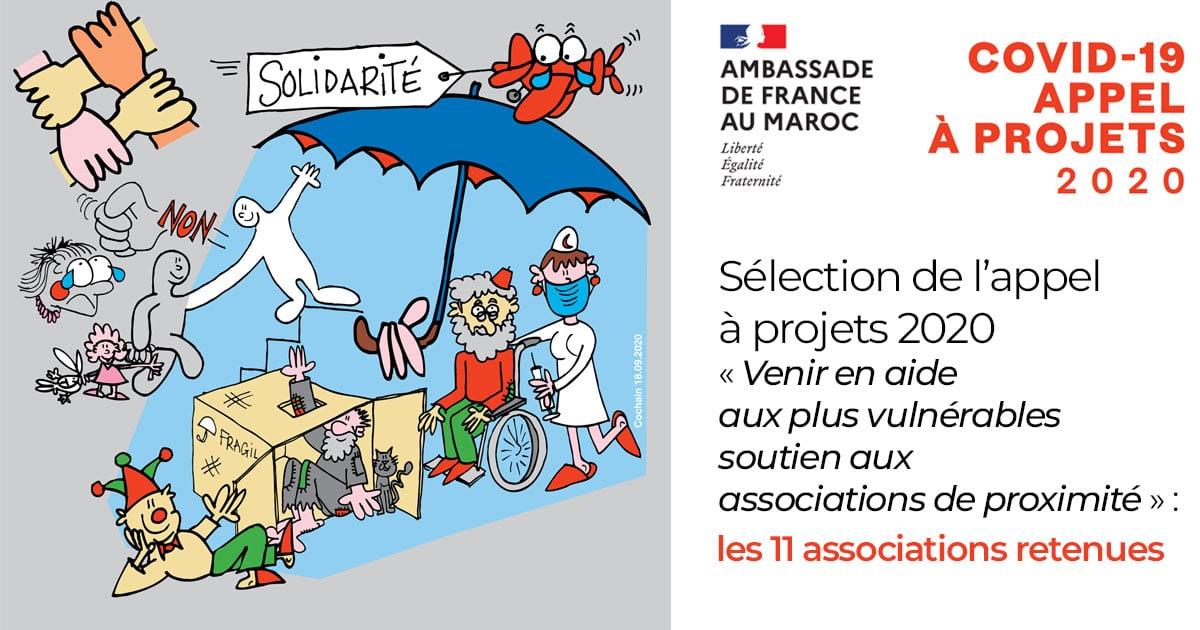 Appel à projets 2020 « Venir en aide aux plus vulnérables – soutien aux associations de proximité » : les 11 associations retenues